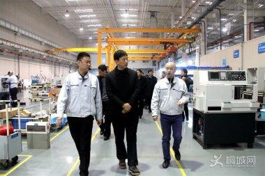 刘中汉率队考察西安高新技术产业开发区 刘决龙杨杭州等出席相关活动