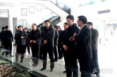 刘中汉率队考察西安国家民用航天产业基地